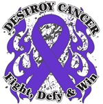 Destroy Pancreatic Cancer Shirts and Gear
