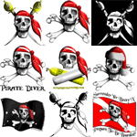 Pirate t-shirts and booty