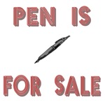 Pen is for sale