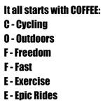 Cycling Coffee Cups