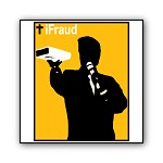 iFraud, the Christian Preacher | iPod Parody T-shirts and Evangelical Joke Gifts