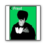iFraud, the Imam | iPod Parody T-shirts & Gifts for Islamic Jokers