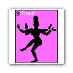 iFraud, the Hindu Goddess | iPod Parody T-shirts &  Gifts for Many Armed Multi Taskers