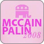 McCain Palin GOP Pink