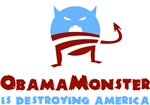 Obama Monster is Destroying America