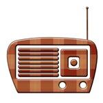 Plaid Vintage Radio