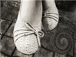 White Shoes in The Rain Cat Forsley Designs