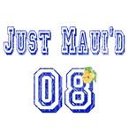 Just Maui'd 08 Jersey Letters