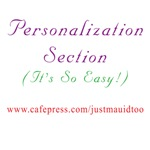 PERSONALIZE WITH OUR LOGOS SECTION