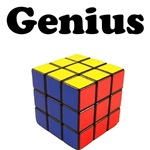 Genius rubix cube colorful