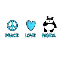 peace love panda