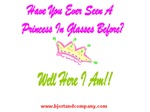 Princess In Glasses T-Shirts/Accessories