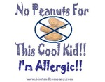 No Peanuts For This Cool Kid T-Shirts/Accessories