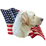 Yellow Lab Flag