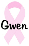 Gwen pink ribbon