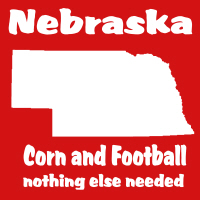 Nebraska Football t-shirts