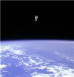 Orbiting Astronaut