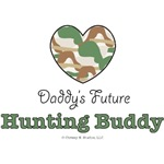 Daddy's Future Hunting Buddy Onesies and Gifts