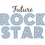 Funny Future Rock Star Kids Baby Boy Onesies Gifts