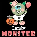 Halloween Candy Monster T-shirt Gifts