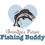 Grandpa's Fishing Buddy Gifts Tee Shirts More
