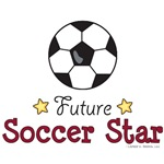 Future Soccer Star Baby Kids T-shirt Gifts