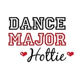 Dance Major Hottie T shirt Gifts