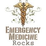 Emergency Medicine Rocks ER Doc T shirt Gifts