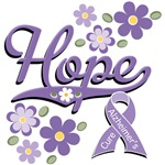 Alzheimer's Gifts T-shirt With Awareness Ribbon