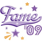Fame 09 Shooting Star T shirt Tees and Gifts