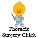 Thoracic Surgery Chick T shirts Gifts