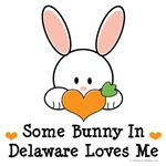 Some Bunny In Delaware Loves Me T-shirt Gifts