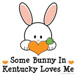 Some Bunny In Kentucky Loves Me T-shirt Gifts