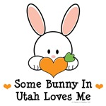 Some Bunny In Utah Loves Me T shirt Gifts