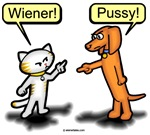 Wiener Dog & Pussycat