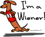 I'm A Wiener Winner! Red Doxie