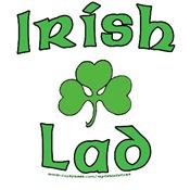Irish Lad - Shamrock Design