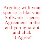 arguing with your spouse