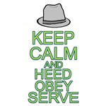 Fringe: Keep Calm and Heed Obey Serve