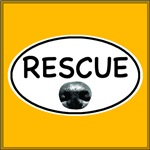 Rescue Nose White Oval