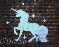 Unicorn Graffiti