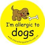 I'm allergic to dogs