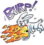 Flaming Burping Bunny