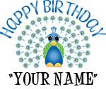 Happy Birthday (Peacock - Names)