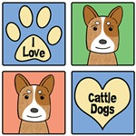 I Love Cattle Dogs (Red Heelers)