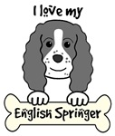 English Springer Spaniel Cartoon