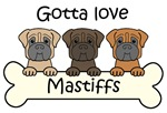 Three Mastiffs