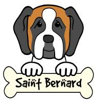 Saint Bernard Cartoon T-Shirts and Gifts
