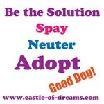 Spay, Neuter, Adopt