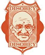 Mahatma Gandhi Disobey
